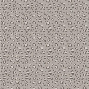 Beach Towel Grey Leopard